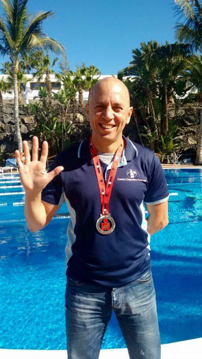Ignacio, coordinador del Centro Deportivo Fariones