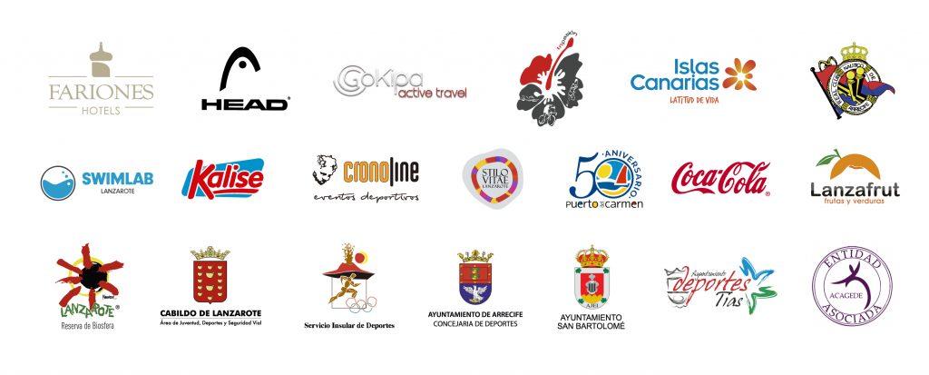 Organismos colaboradores SwimRun Lanzarote - España